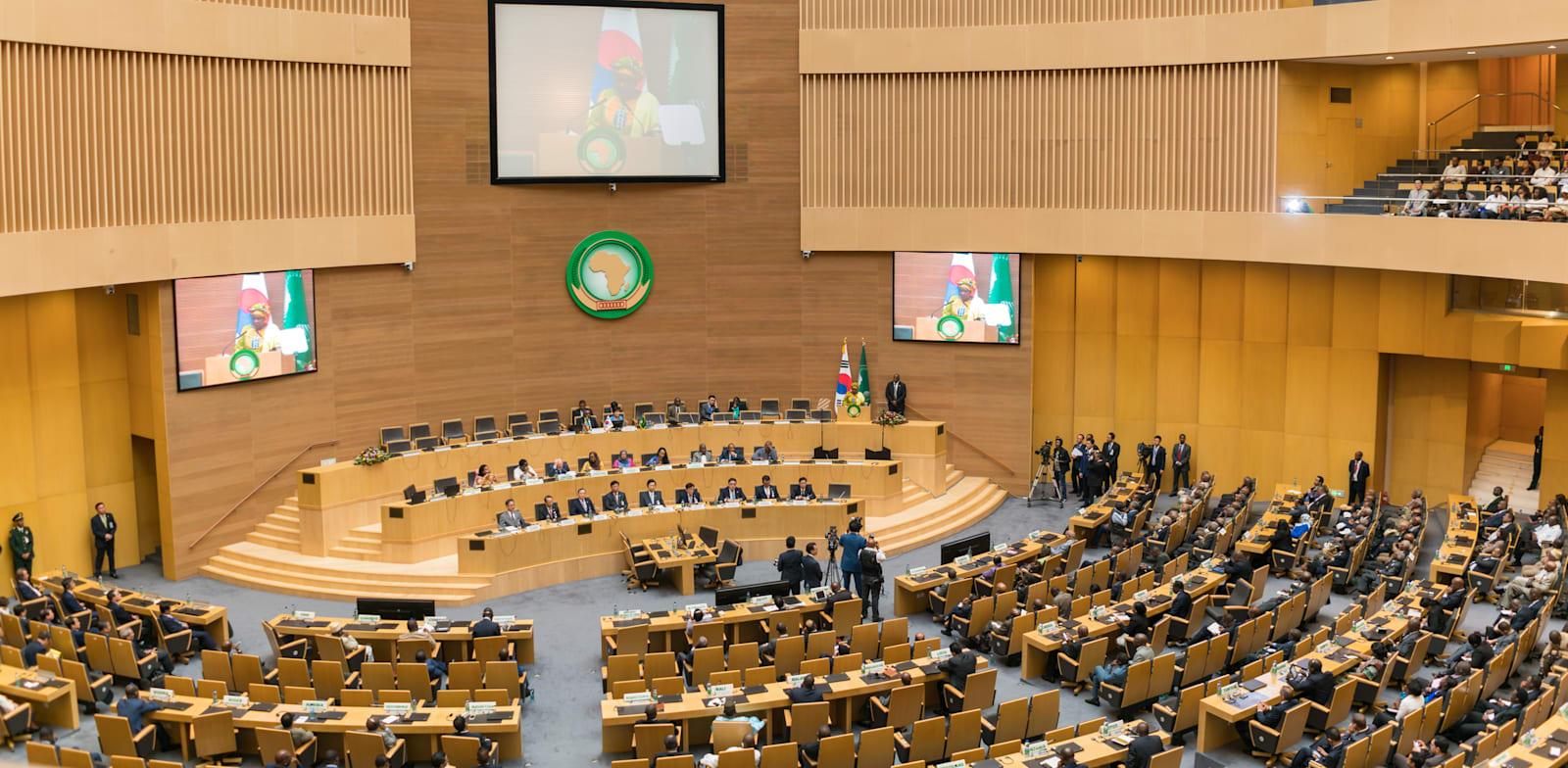 כינוס האיחוד האפריקאי באדיס אבבה / צילום: Shutterstock, Dereje