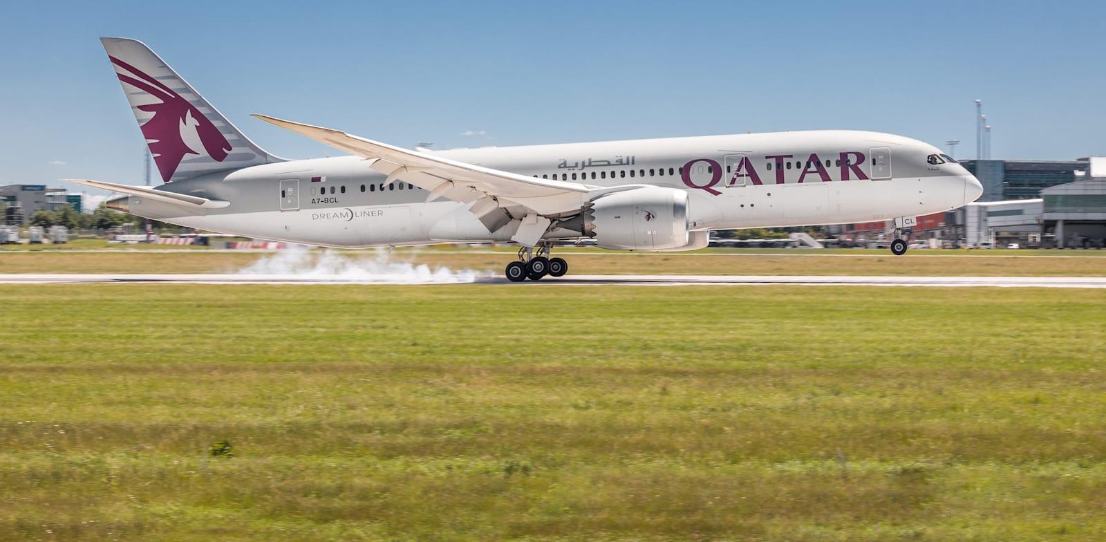 מטוס של של קאטר איירווייז / צילום: Shutterstock