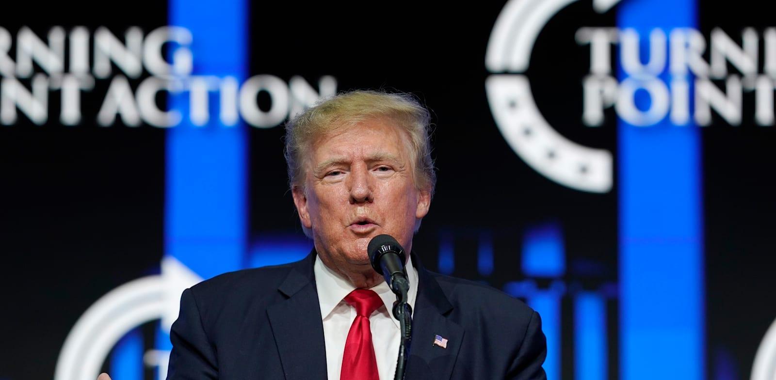 דונלד טראמפ / צילום: Associated Press, Ross D. Franklin