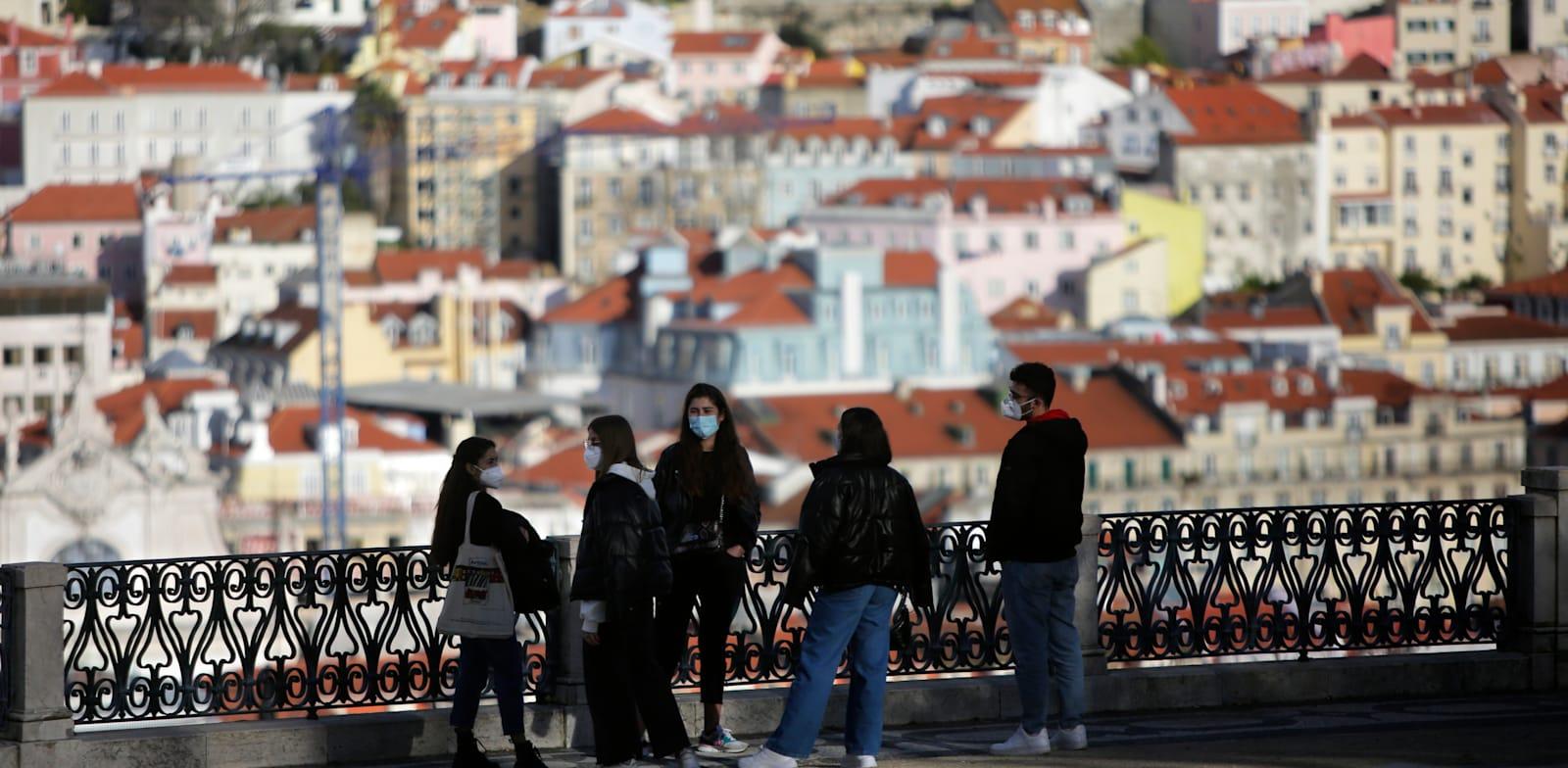 ליסבון, בירת פורטוגל. המדינה רשמה את הצמיחה המרשימה ביותר ברבעון האחרון / צילום: Associated Press, Armando Franca