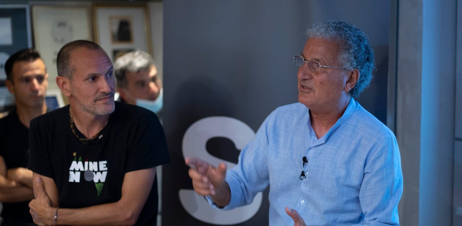 משה אדרי ובן ברנר, Screen IL / צילום: שניר קציר