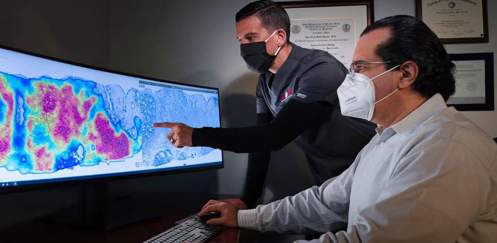 חברת Ibex Medical שפיתחה מערכות תומכות החלטה לפתולוגים / צילום: צילום מסך מתוך סרטון של החברה