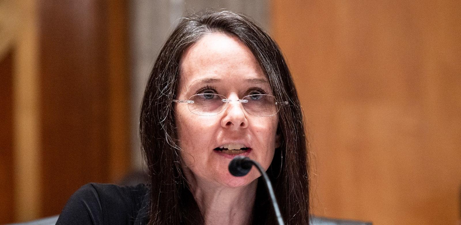 ג'ן איסטרלי, מנהלת הסוכנות להגנה על תשתיות והגנות סייבר / צילום: Reuters, Michael Brochstein/Sipa USA