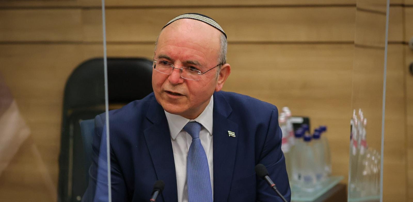 מאיר בן שבת בישיבת הפרידה בוועדת החוץ והביטחון / צילום: דוברות הכנסת, נועם מושקוביץ