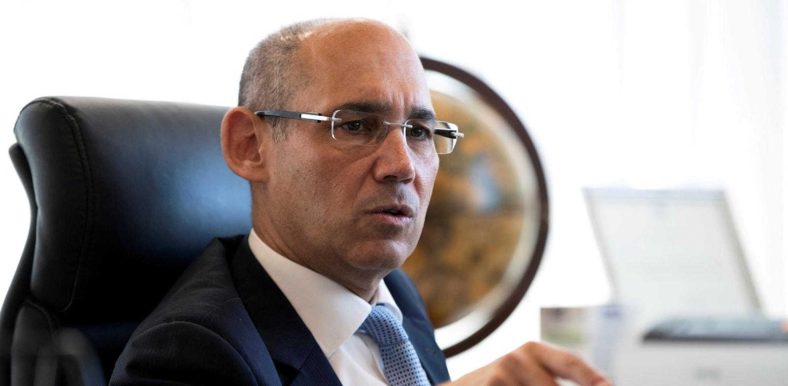 Governor of the Bank of Israel Amir Yaron  credit: Ronen Zvulun, Reuters