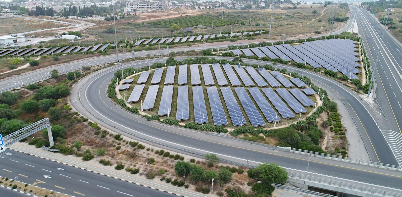 Gedera Interchange in the future Photo: Netivei Israel
