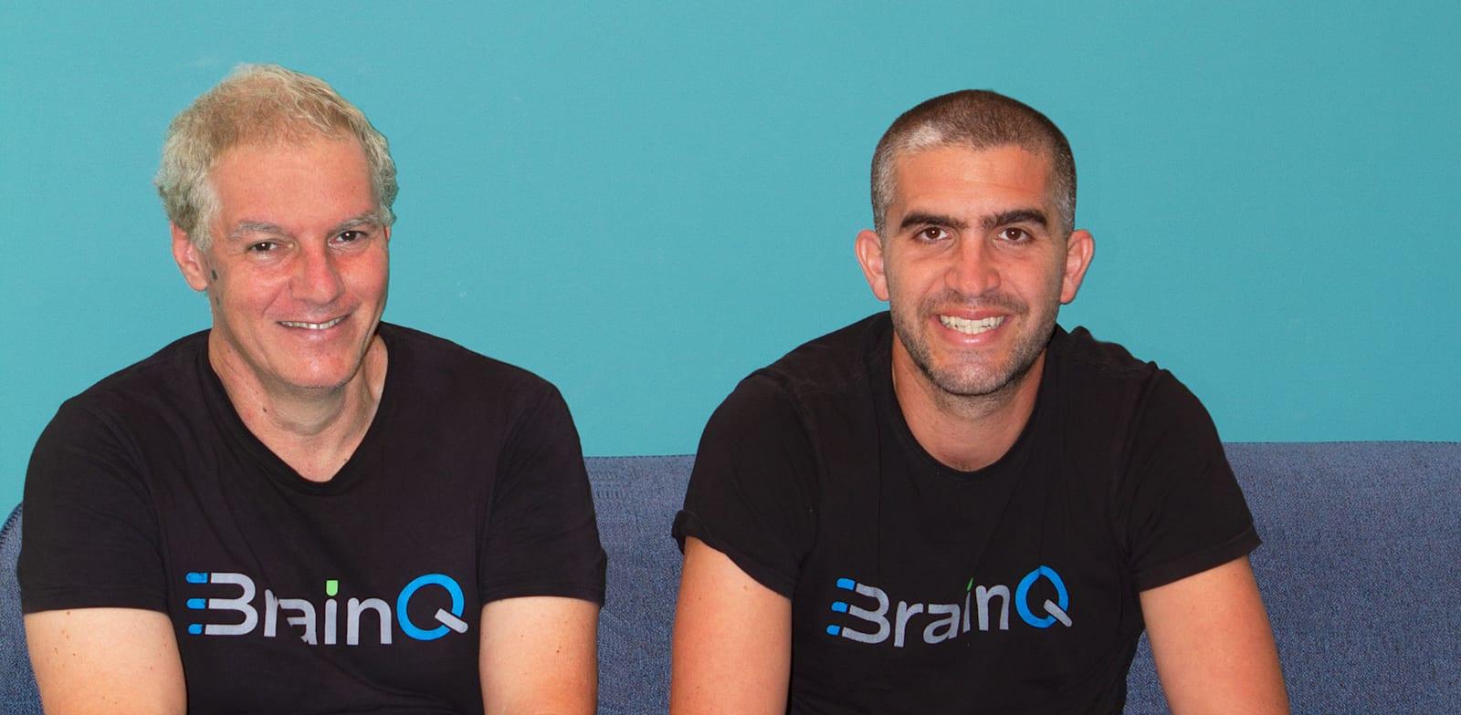 """מייסדי BrainQ, ד""""ר ירון סגל, CISO, והמנכ״ל, יותם דרקסלר / צילום: יח''צ"""