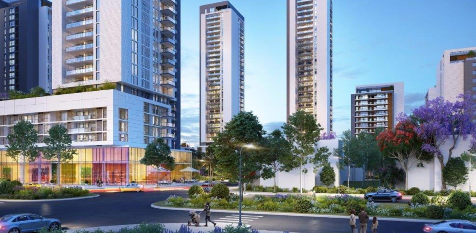 השכונה החדשה בנתניה / הדמיה: Elvove Media