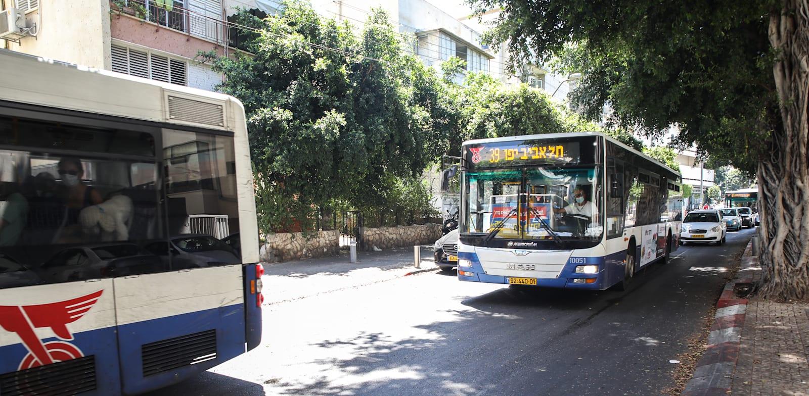 תחבורה ציבורית. לתמרץ את העובדים / צילום: כדיה לוי