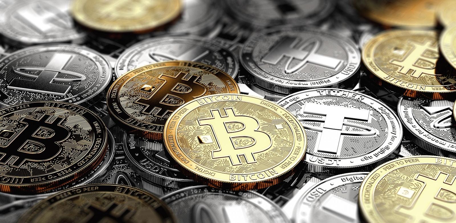 מטבעות קריפטו. אין כל דרך לדעת כמה קטינים מחזיקים כעת בארנקים דיגיטליים / צילום: Shutterstock, 1maksim1