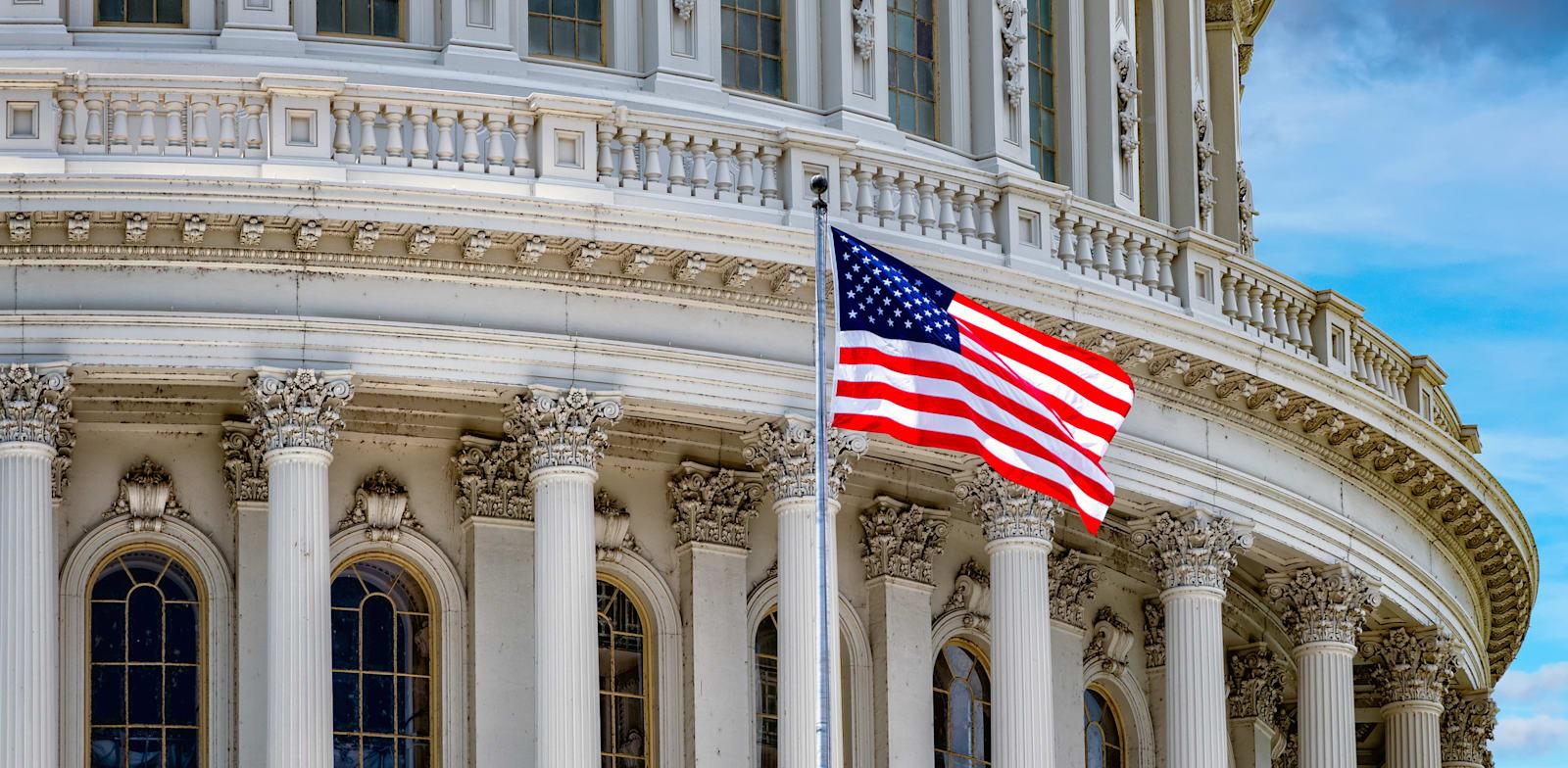 בניין הקפיטול בוושינגטון. תעשיית הקריפטו הופכת לכוח פוליטי / צילום: Shutterstock, Andrea Izzotti