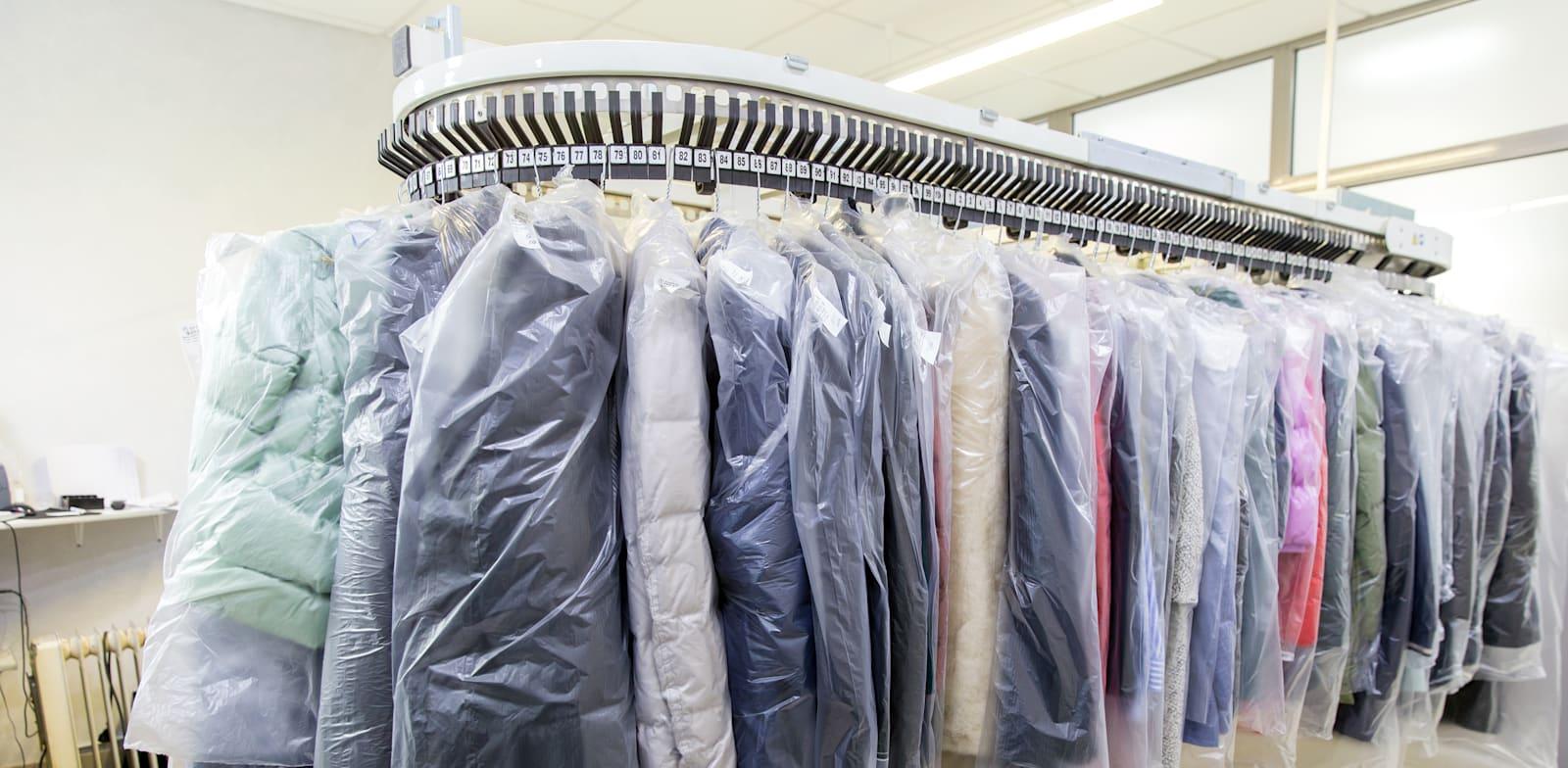 מכבסת ניקוי יבש / צילום: Shutterstock