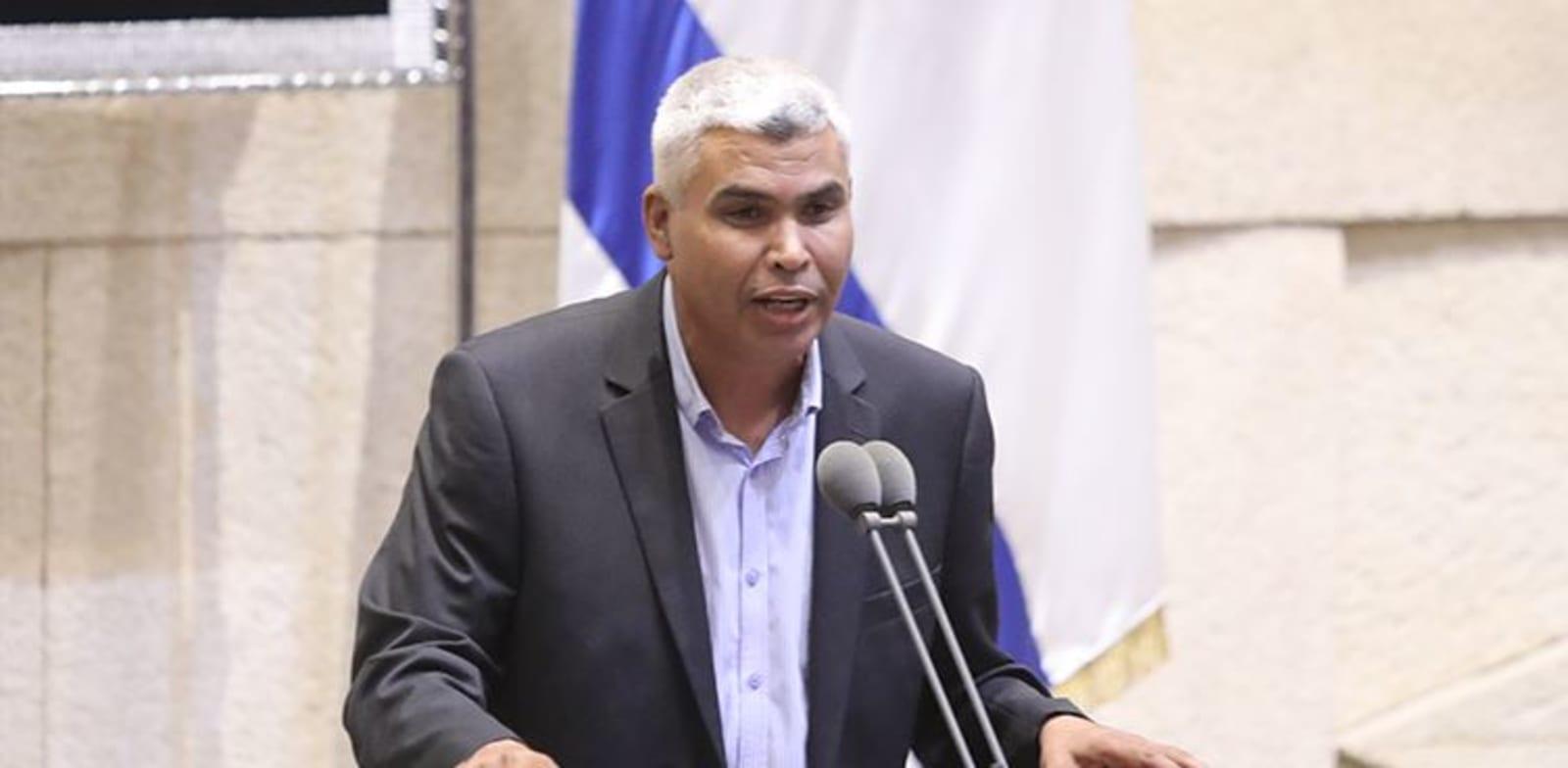"""ח""""כ סעיד אלחרומי / צילום: דוברות הכנסת"""