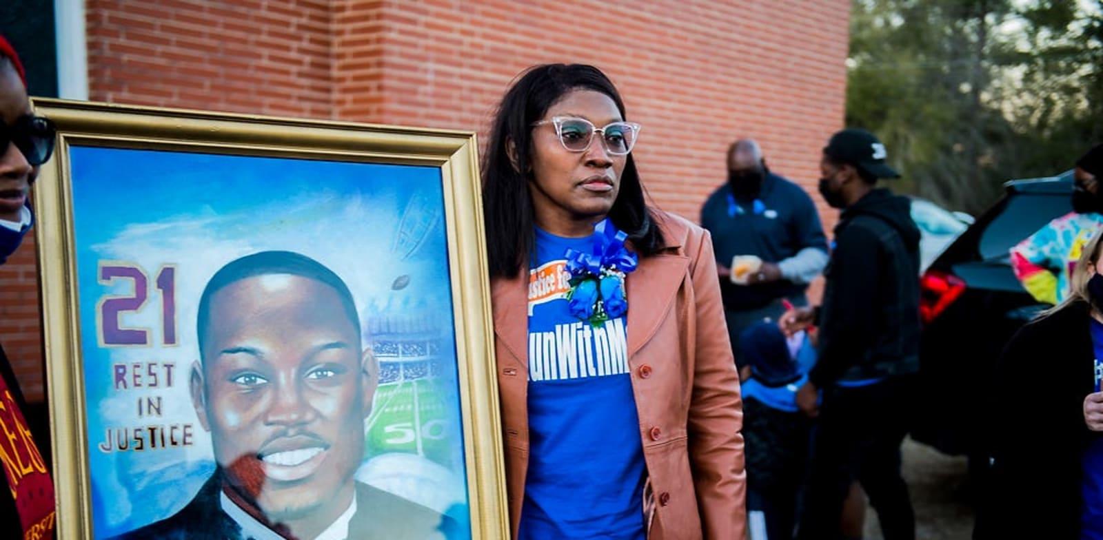 אזכרה לזכרו של קורבן פשע שנאה בארה''ב / צילום: Reuters