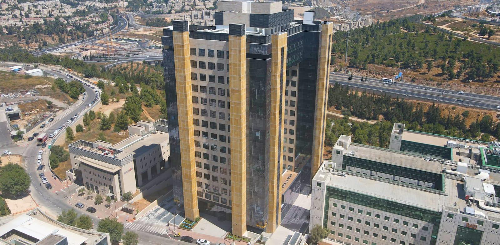 מגדל RAD Tower בהר חוצבים בירושלים / צילום: אביב קפילוטו