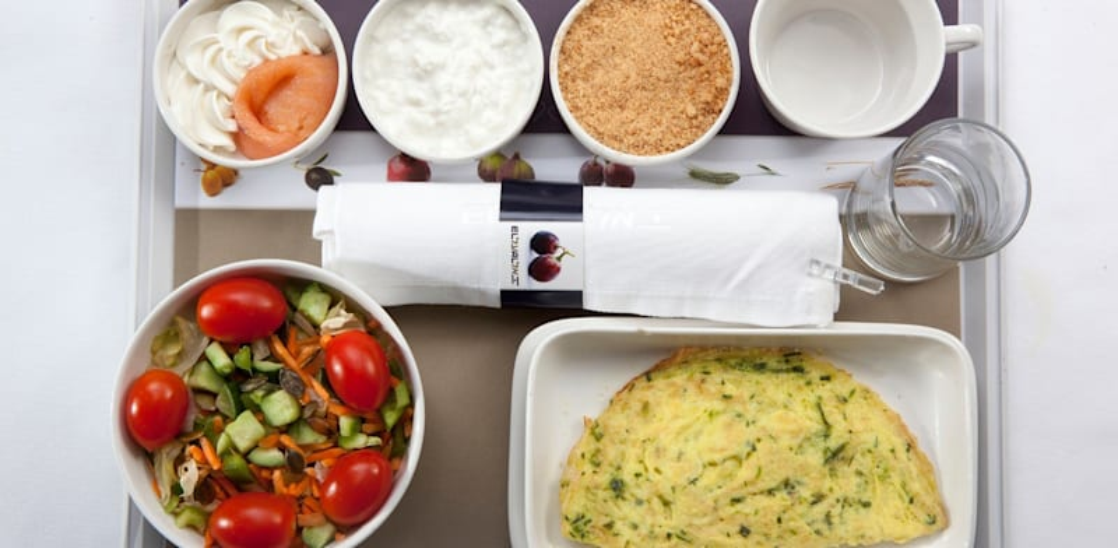 ארוחת מטוס של תמ''מ עבור אל על / צילום: יח''צ