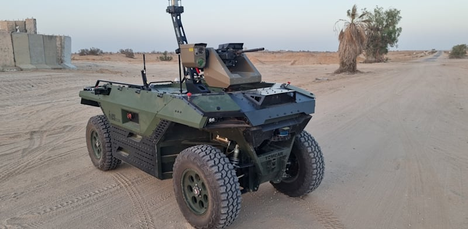 Israel Aerospace off-road robot vehicle Photo: IAI