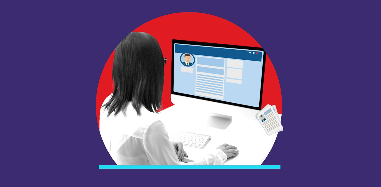 מגייסים צריכים להפסיק להסתכל ברשתות החברתיות / צילום: Shutterstock