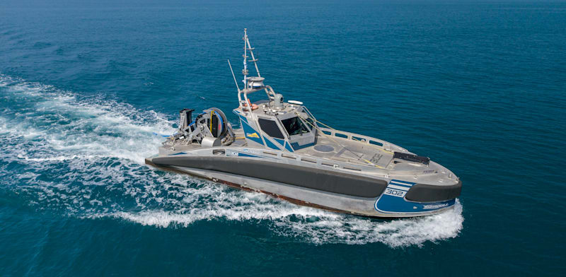 Elbit Systems unmanned ani-submarine naval vessels