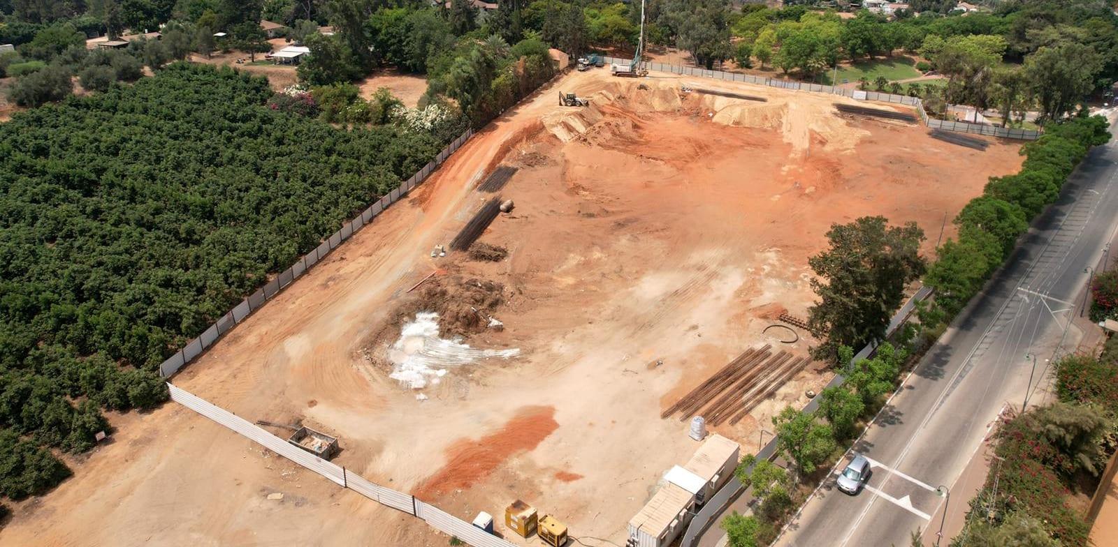 Bnei Zion building site for data center