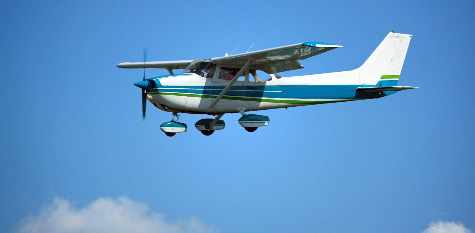 מטוס ססנה  / צילום: Shutterstock, berczy04