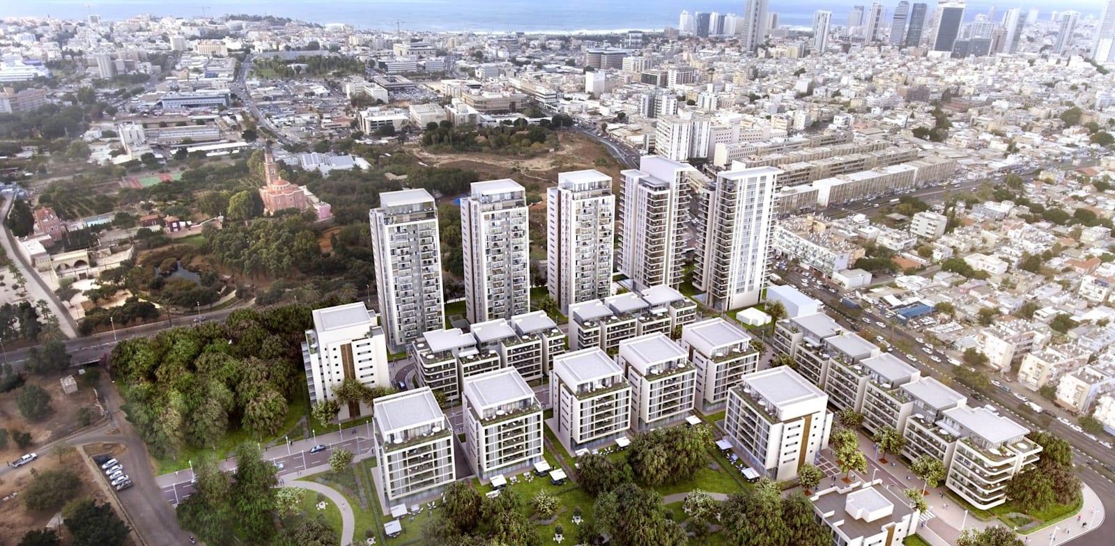 מתחם פארק חורשות, בתל אביב / צילום: 3Division