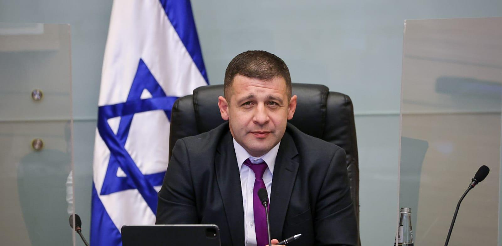 Alex Kushnir Photo: Knesset Spokesperson Noam Moskovich