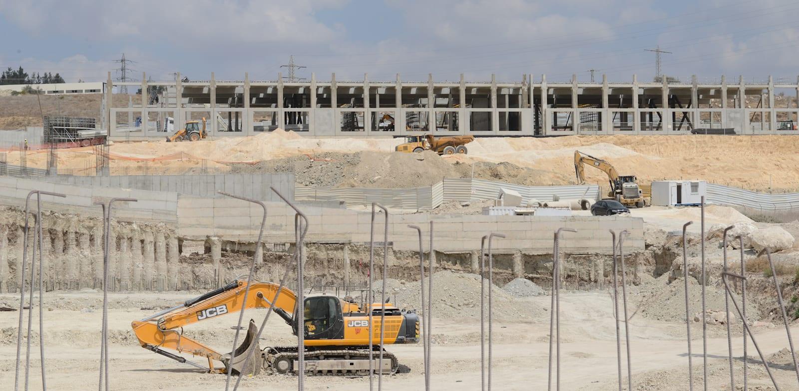 Har Tov Data Center building site Photo: Eyal Izhar