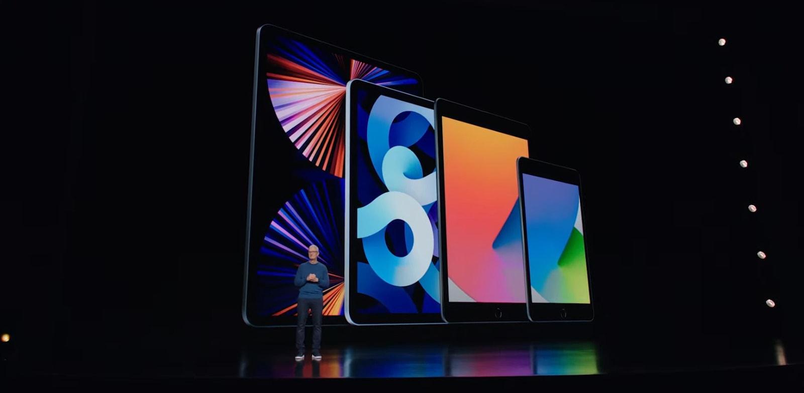 האייפדים החדשים של אפל / צילום: צילום מסך