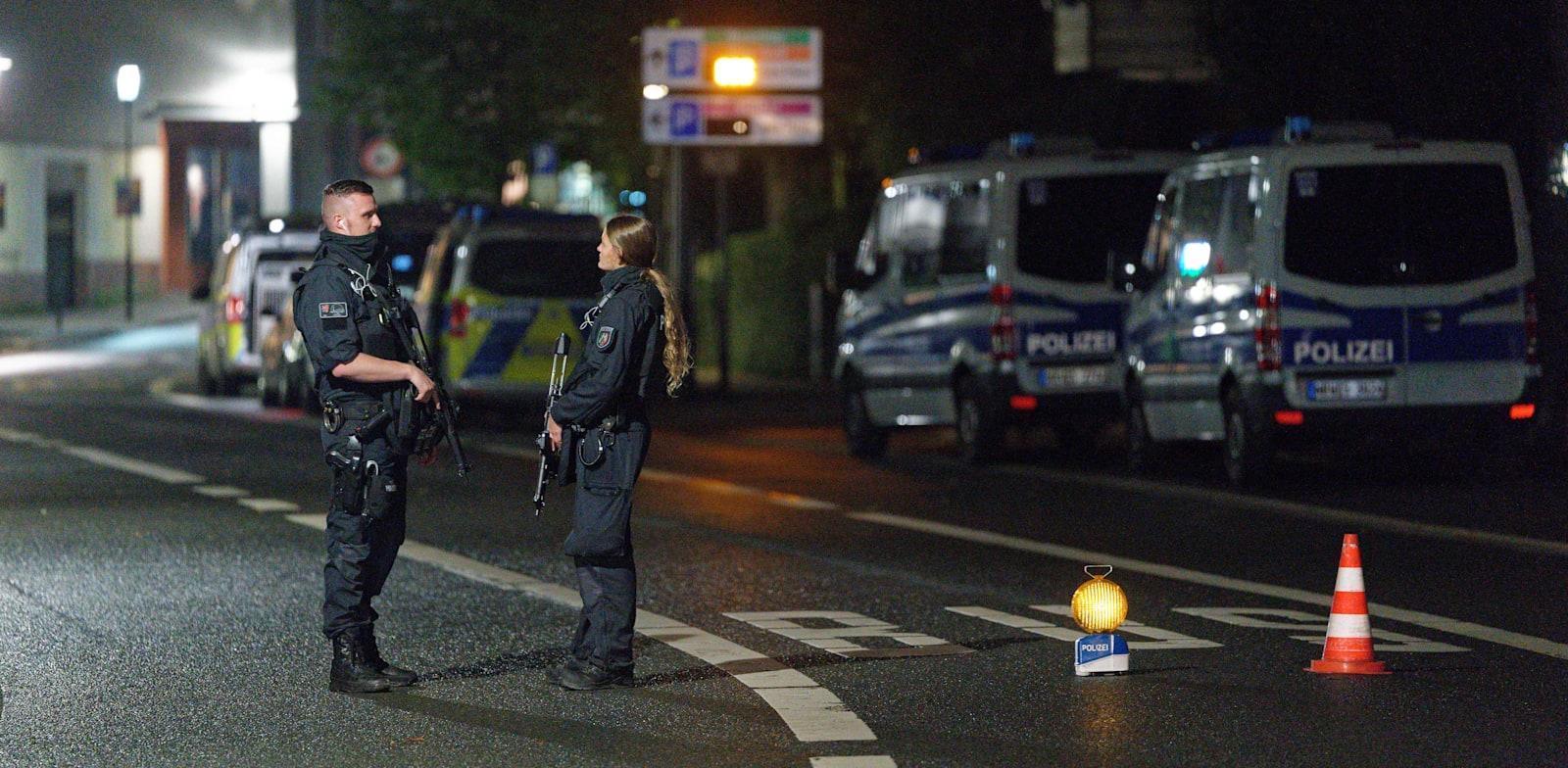 המשטרה עצרה צעיר סורי בחשד שתיכנן לתקוף בית כנסת ביום כיפור בעיר האגן, גרמניה / צילום: Reuters, Henning Kaiser