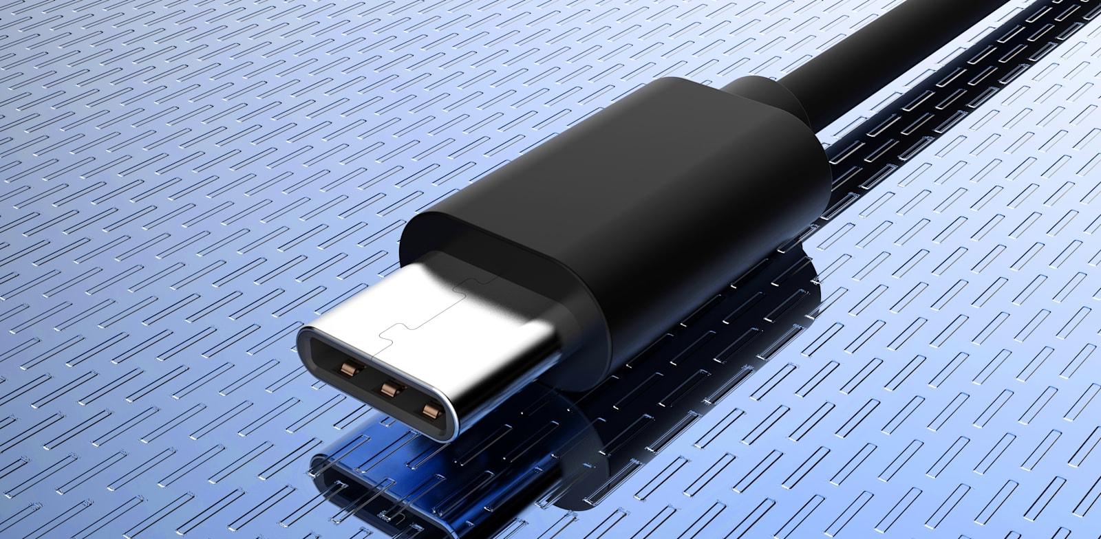 חיבור USB-C. אולי יתאים בקרוב גם לאייפון / צילום: Shutterstock, Sergei Kardashev