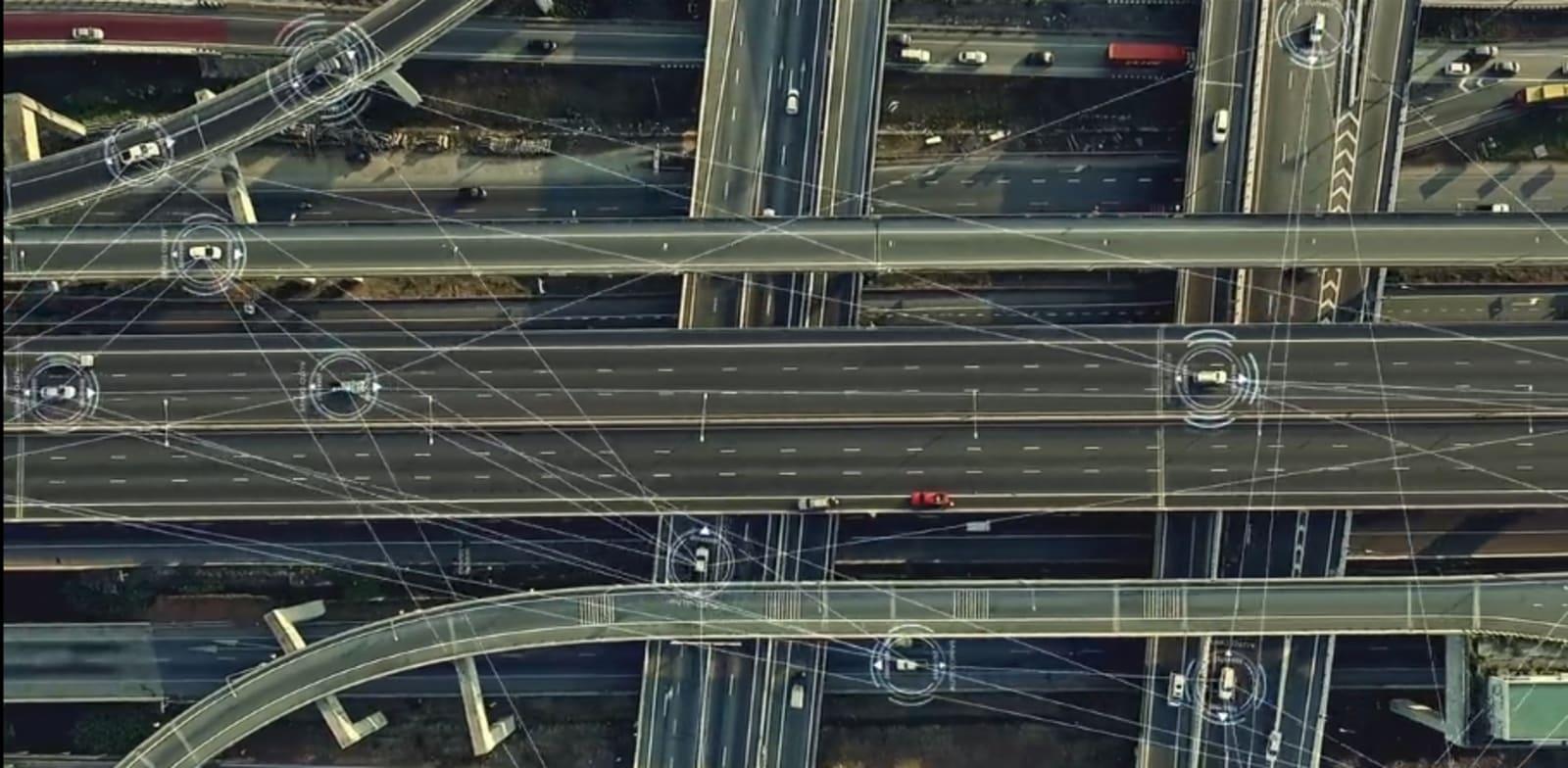 המוצר של אוטונומו אוסף דאטה מכלי רכב / צילום מסך: מתוך סרט באתר החברה
