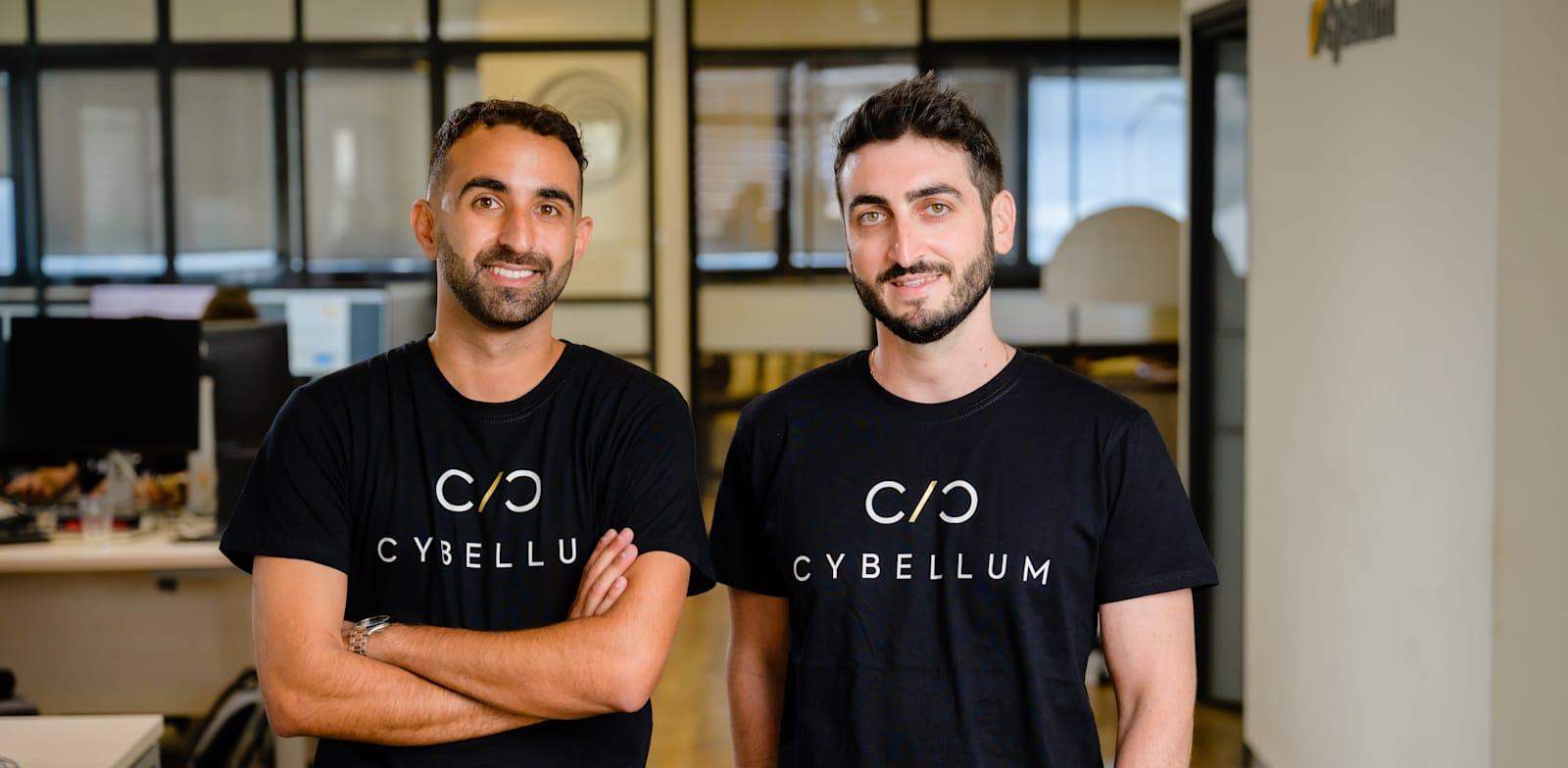 מייסדי סייבלום: סלבה ברונפמן ומיכאל אנגסטלר / צילום: יח''צ