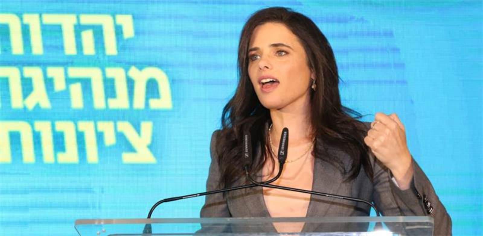 איילת שקד / צילום: כדיה לוי