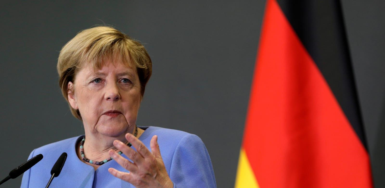 קנצלרית גרמניה אנגלה מרקל / צילום: Associated Press, Franc Zhurda