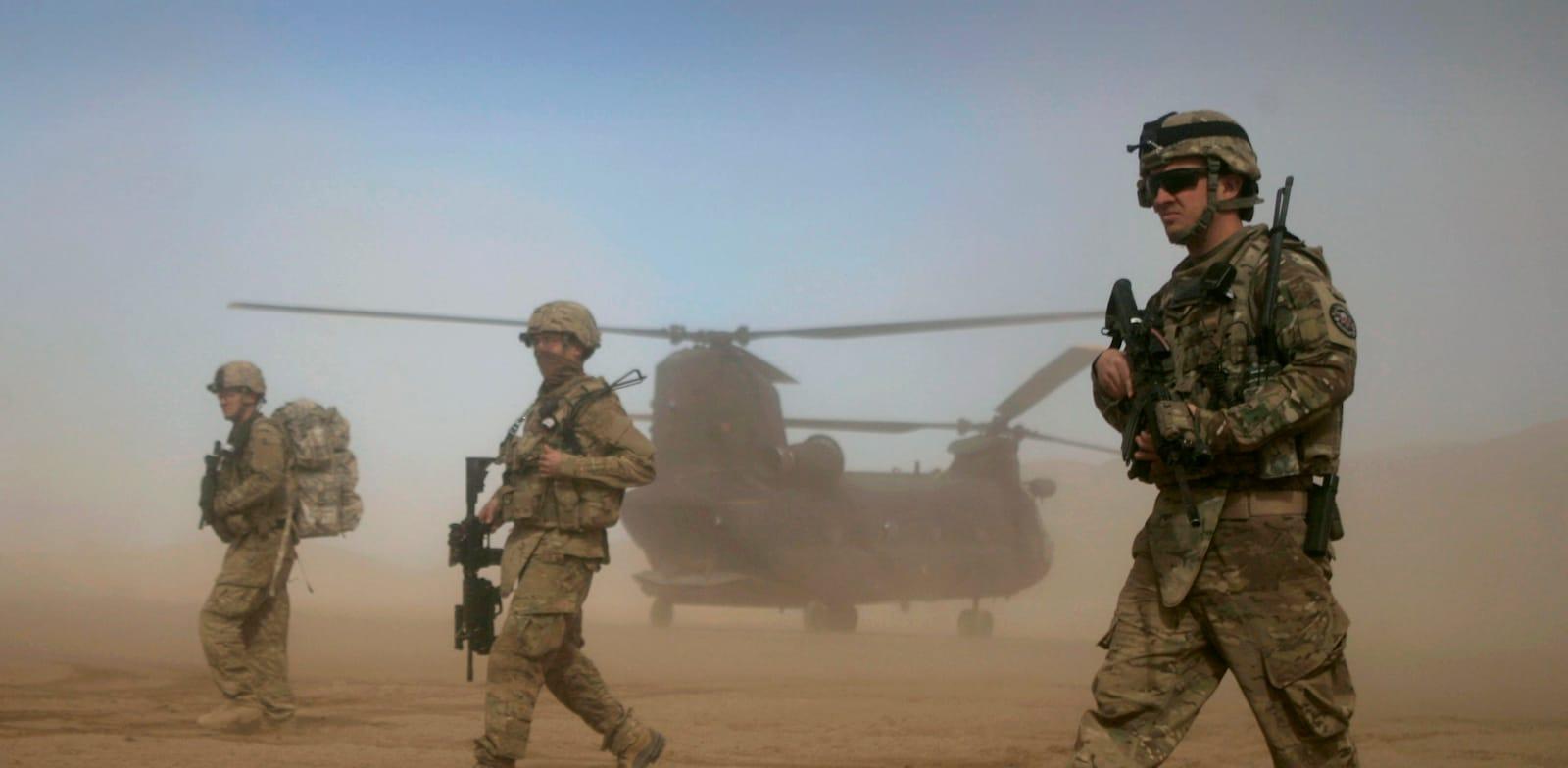 פטרול אמריקאי בקאבול, אפגניסטן ב־2019 / צילום: Associated Press, Hoshang Hashimi