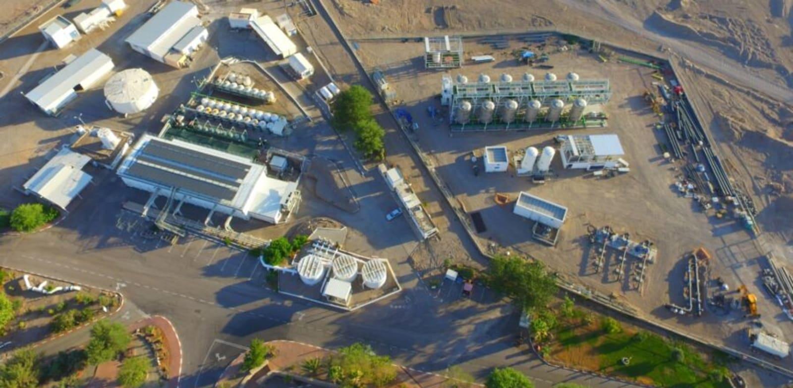 Eilat desalination plant Photo: Company website