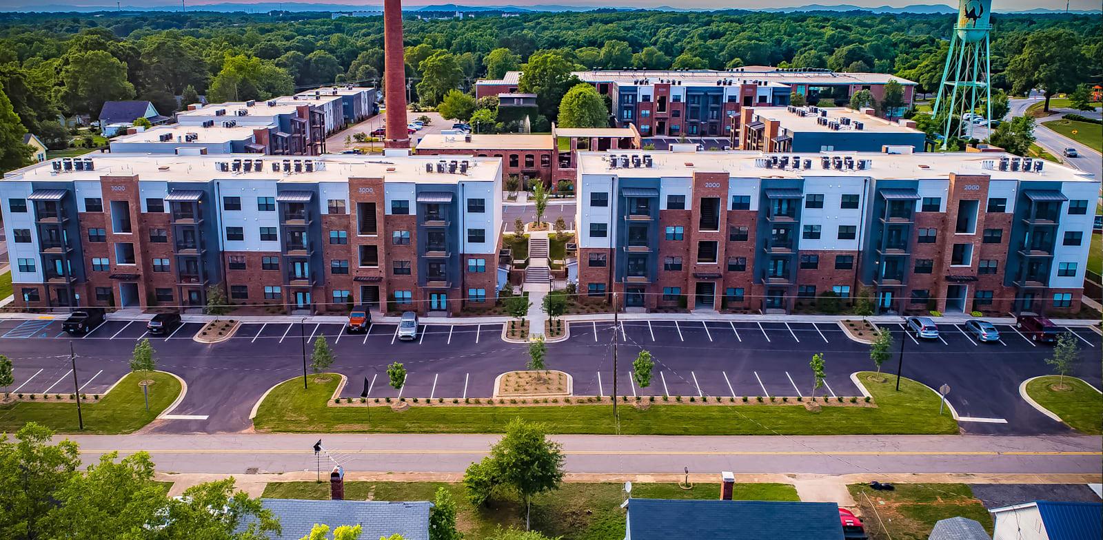 בין הפרויקטים של בוליגו, הסבת מפעל לבנייני מגורים להשכרה בדרום קרוליינה / צילום: יח''צ בוליגו