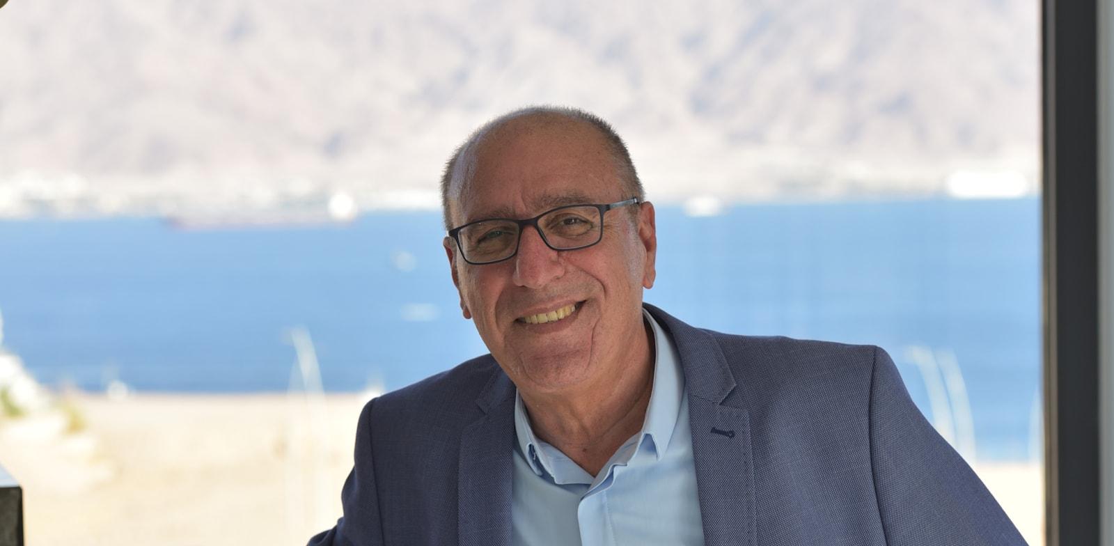 אלי לנקרי, ראש עיריית אילת / צילום: שיר גולני