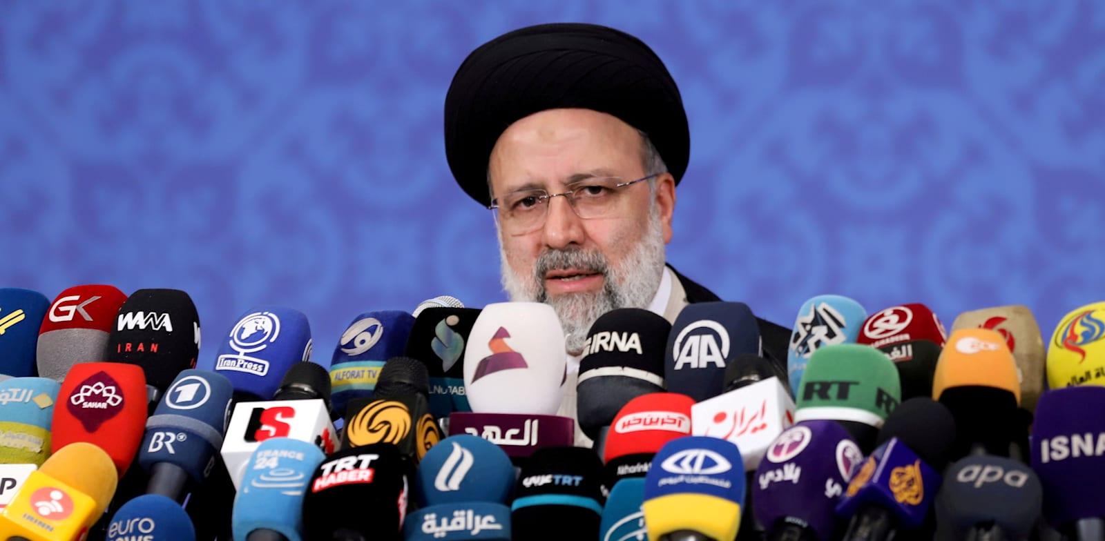 אבראהים ראיסי, נשיא איראן / צילום: Reuters, Majid Asgaripour/WANA
