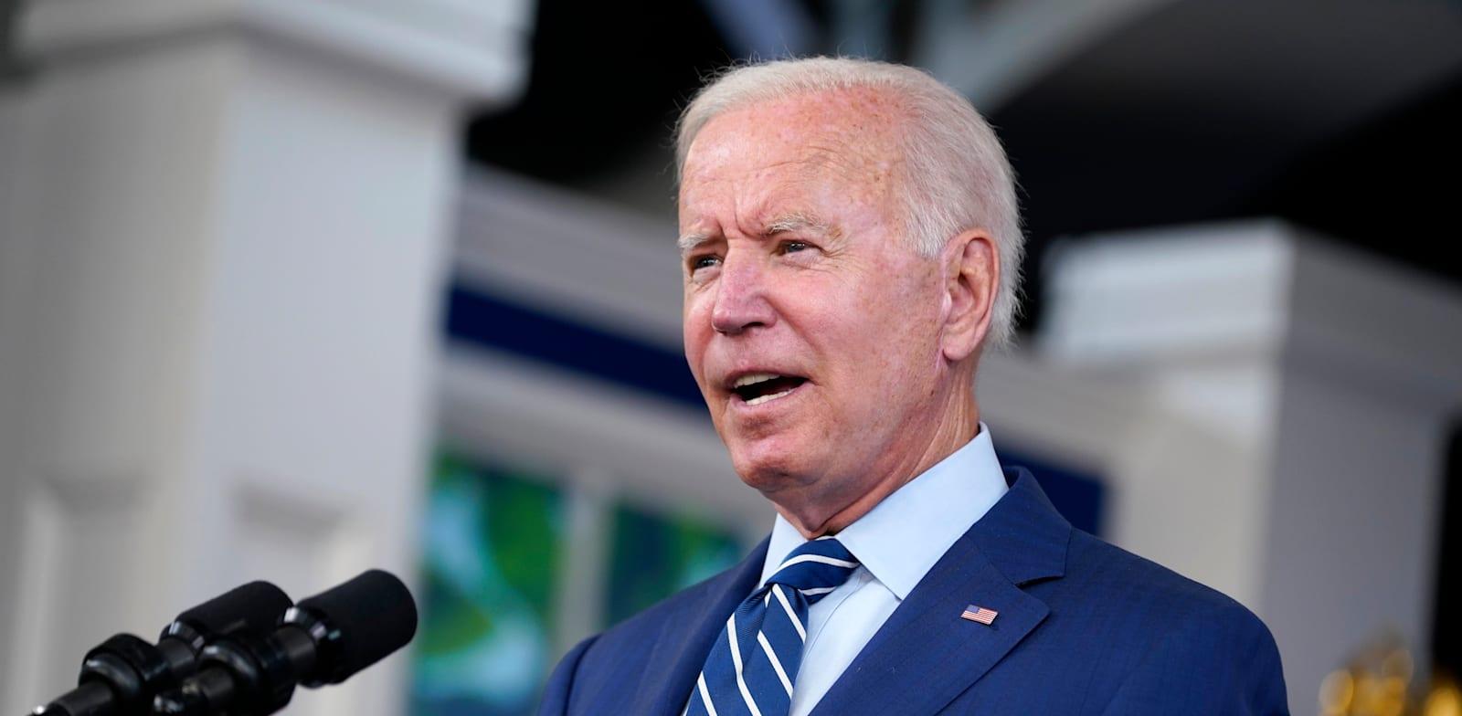 נשיא ארה''ב ג'ו ביידן / צילום: Associated Press, Evan Vucci