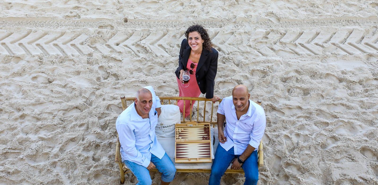 Beach Bum founders Photo: Shlomi Yosef