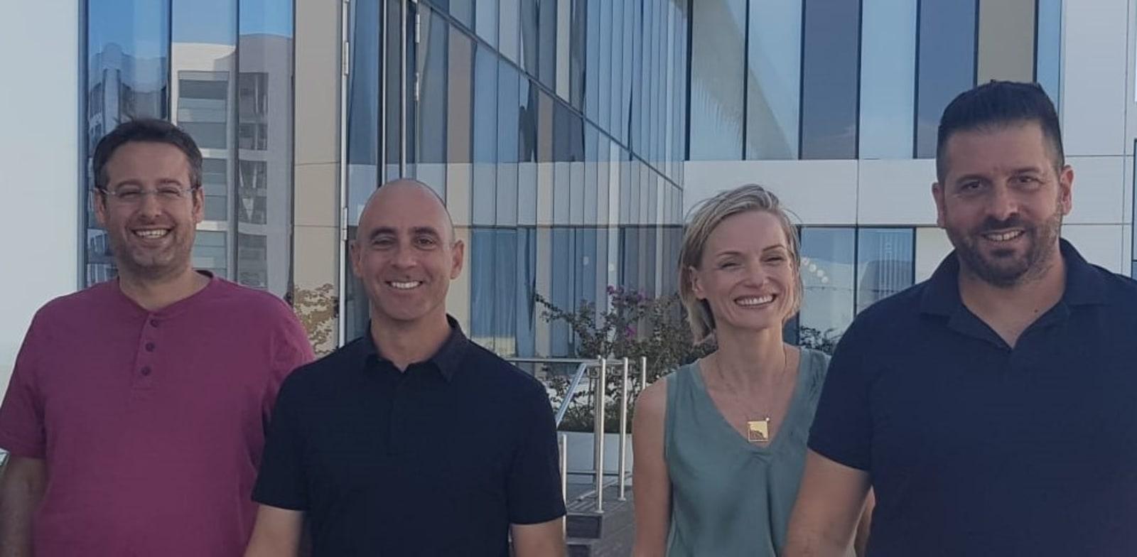 Otonomo and Neura executives Photo: Jody Josef Asiag