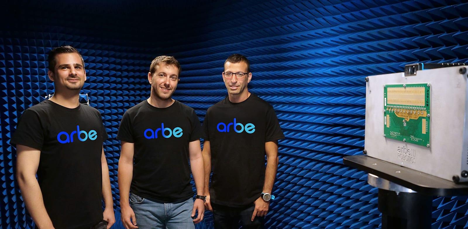 Arbe Robotics founders Photo: PR