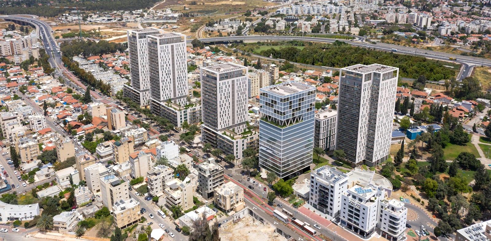 תוכנית התחדשות עירונית ל-610 יחידות דיור במרכז רמלה / צילום: ערן מבל אדריכלים