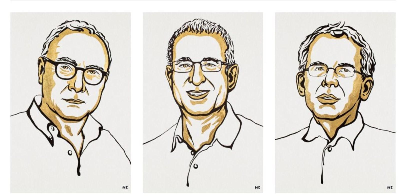 Nobel Prize winners Photo: Screen shot