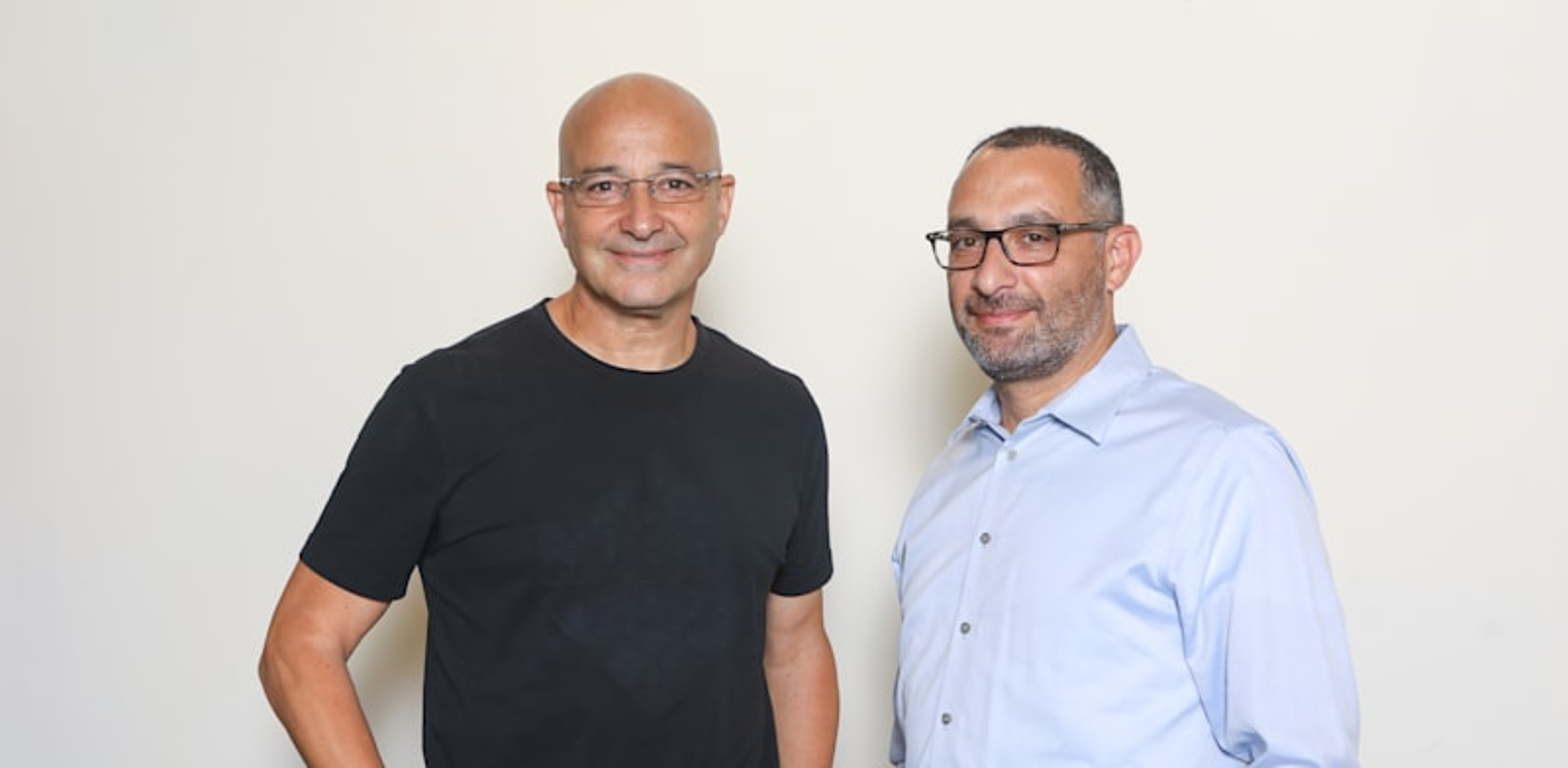 Yossi Carmil and Yossi Ofek Photo: Shay Shviro