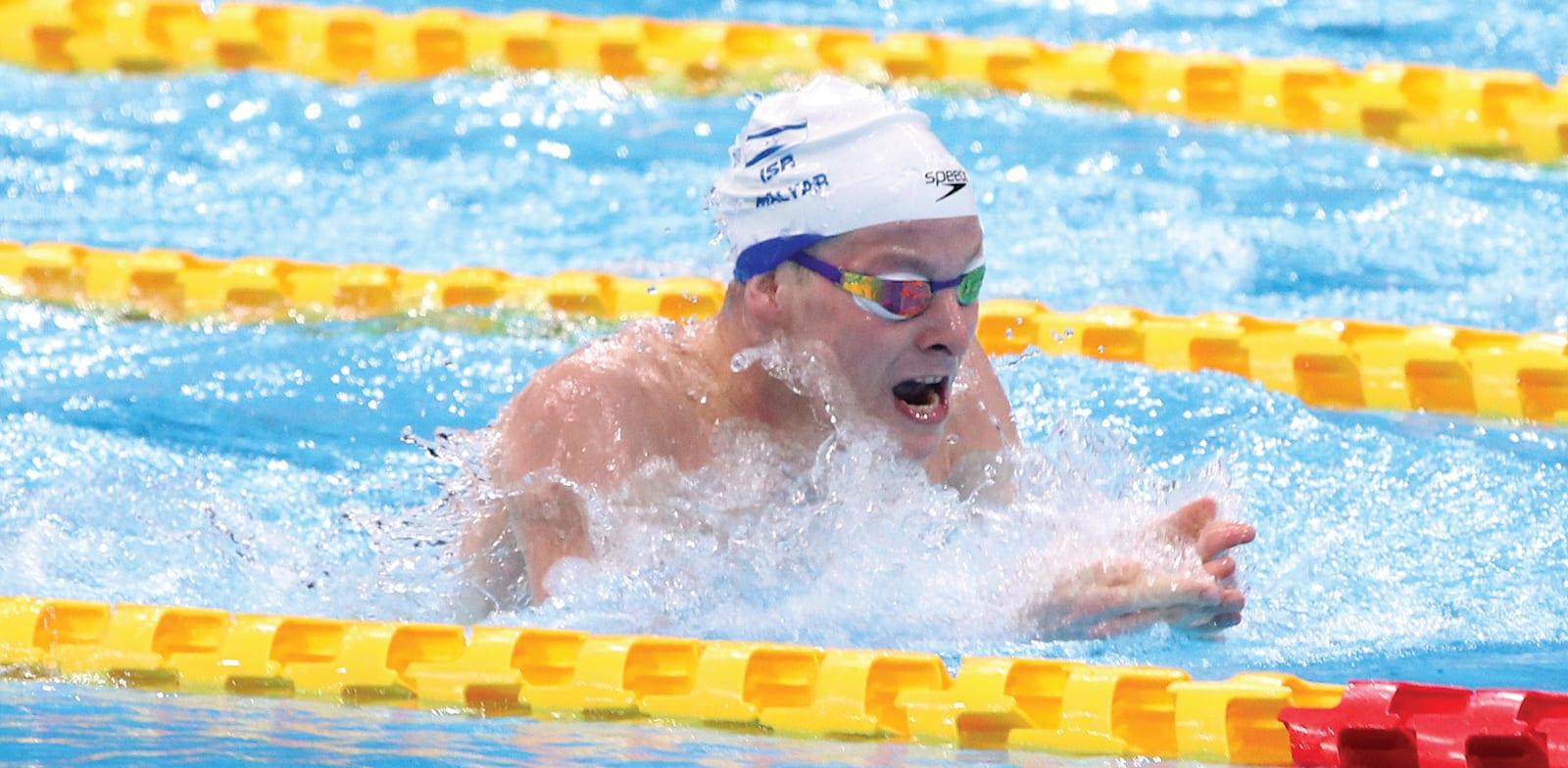 סיפור האהבה עם השחיינים הפראלימפיים. מארק מליאר באולמפיאדת טוקיו / צילום: לילך וייס