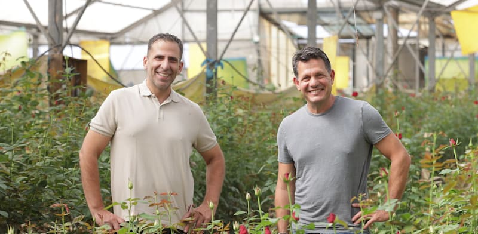 Yoav Ben Yakar and Roi Eliyahu Photo: Tomer Aviv