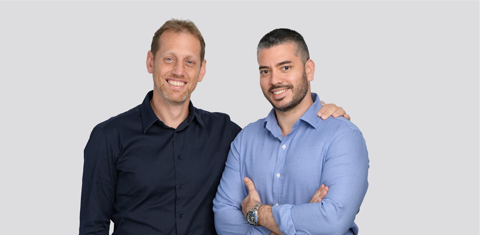 Navina founders Ronen Lavi and Shay Perera Photo: David Garb